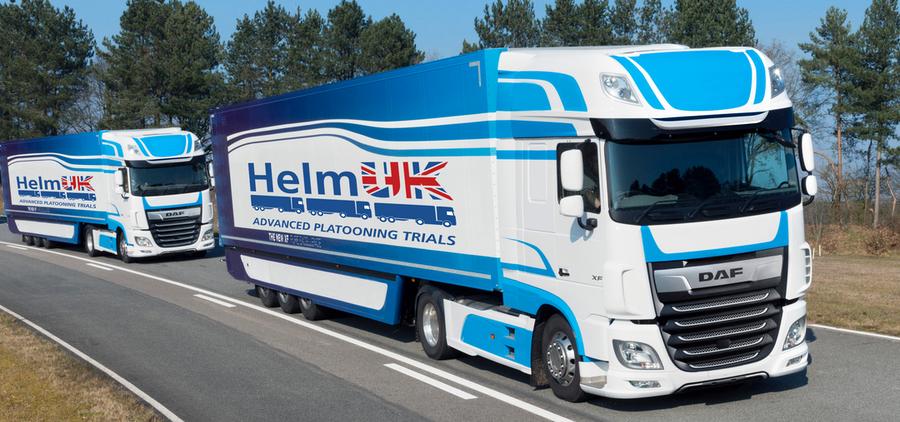 Helm - platooning trucks