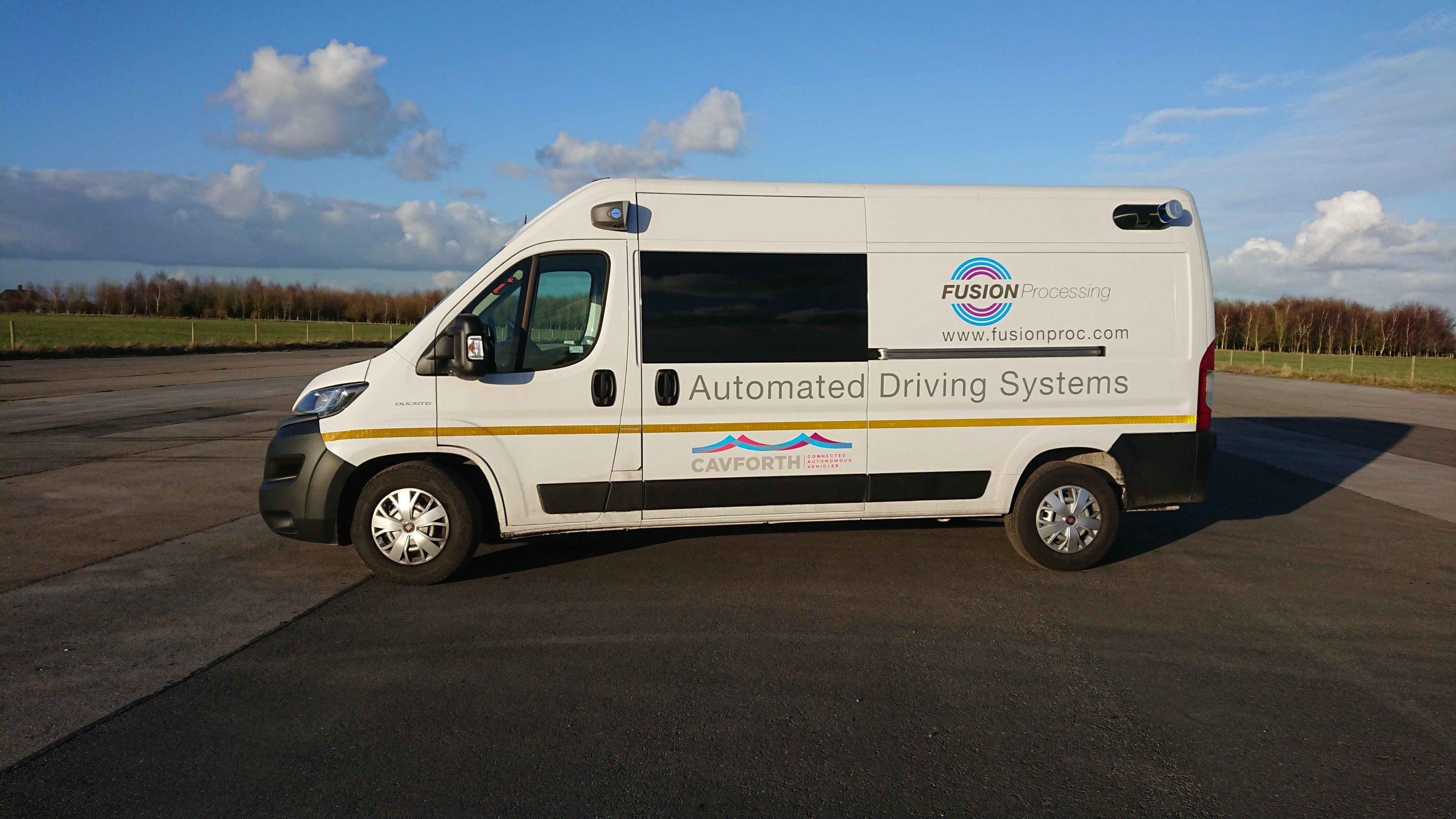 Autonomous Ducato Van